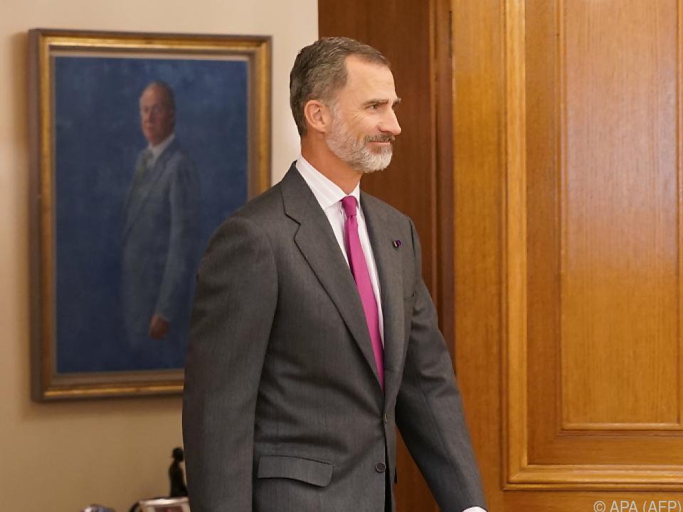 Spanischer König Felipe VI.