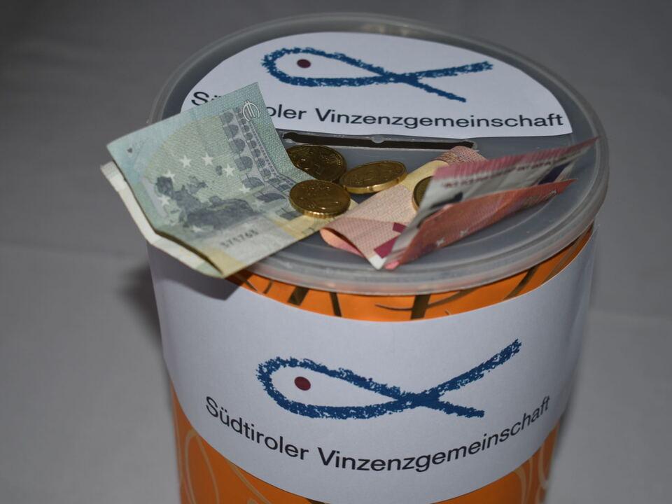 Spendenbox Vinzenzgemeinschaft 2