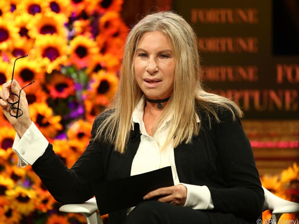 Streisand ist bekennende Demokratin