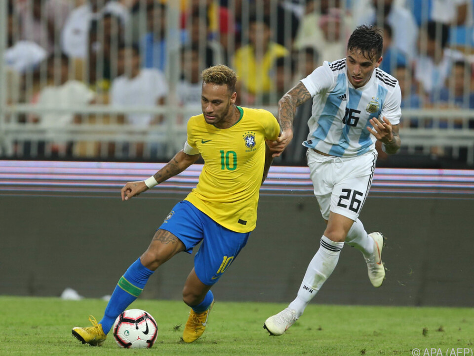 Superstar Neymar bereitete das Tor vor