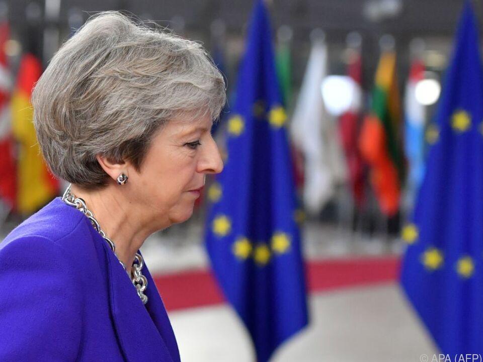 Theresa May könnte auch in der Nordirland-Frage nachgeben
