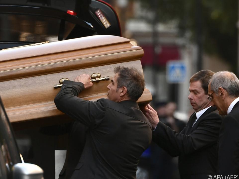 Trauerfeier unter Ausschluss der Öffentlichkeit