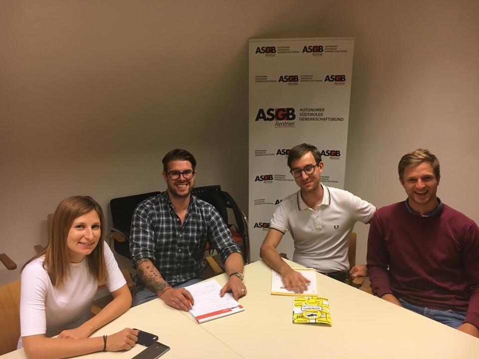 Treffen ASGB-Jugend - Team Köllensperger