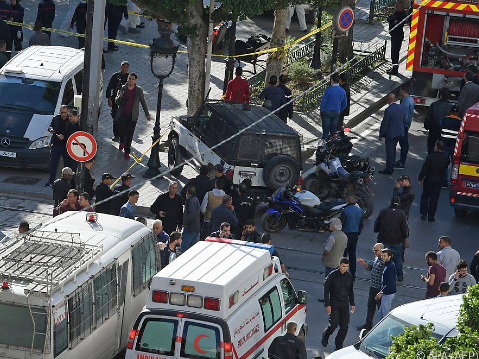 Tunis von Selbstmordanschlag erschüttert
