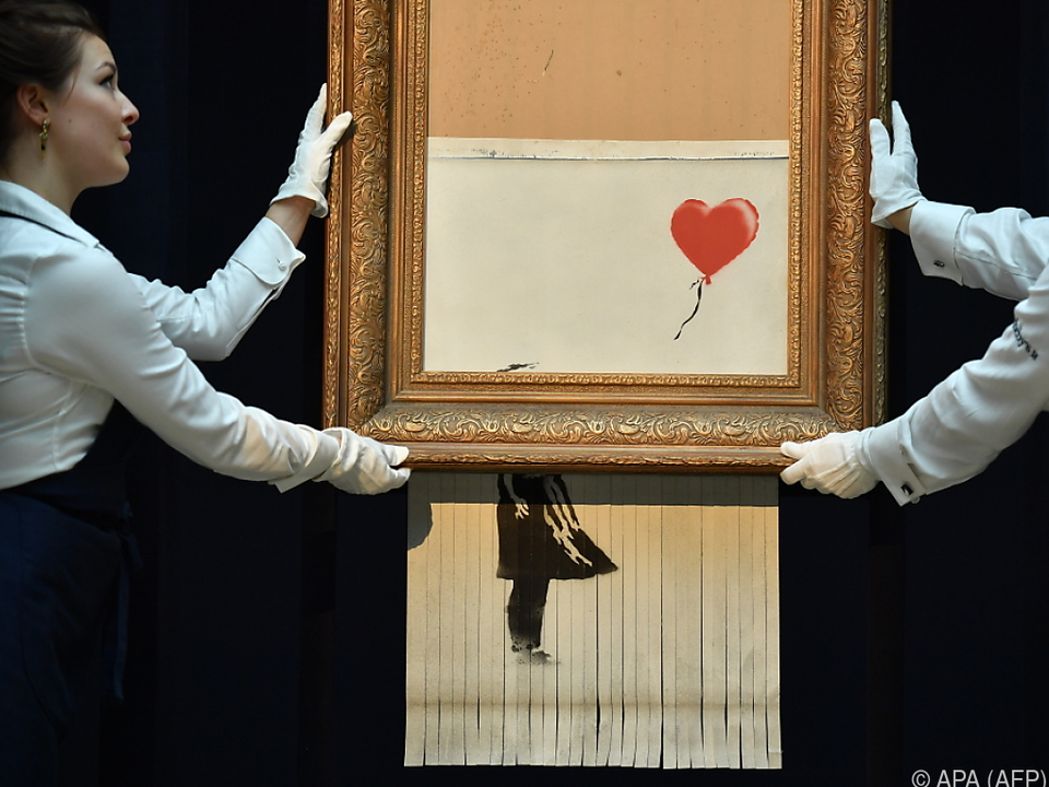 Ungewolltes Kunstwerk von Banksy
