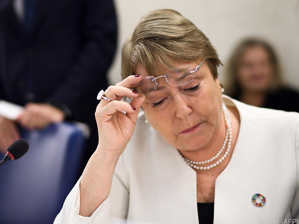 UNO-Menschenrechtsbeauftragte Michelle Bachelet