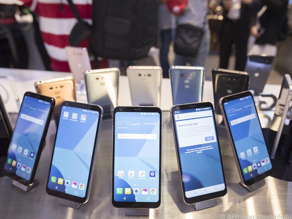 Unzählige Smartphones sind auf dem Markt