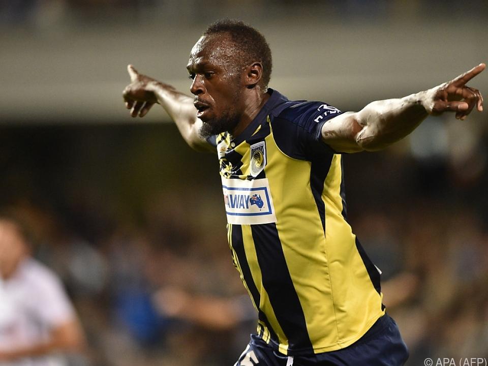 Usain Bolt freute sich über seine schönen Tore