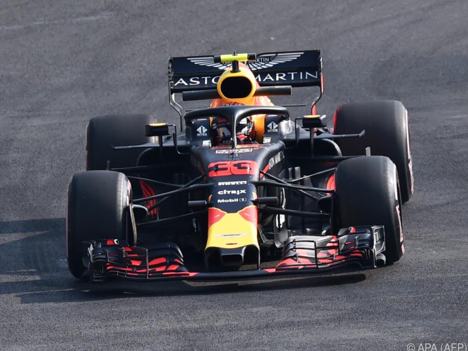 Verstappen fuhr die mit Abstand schnellste Runde