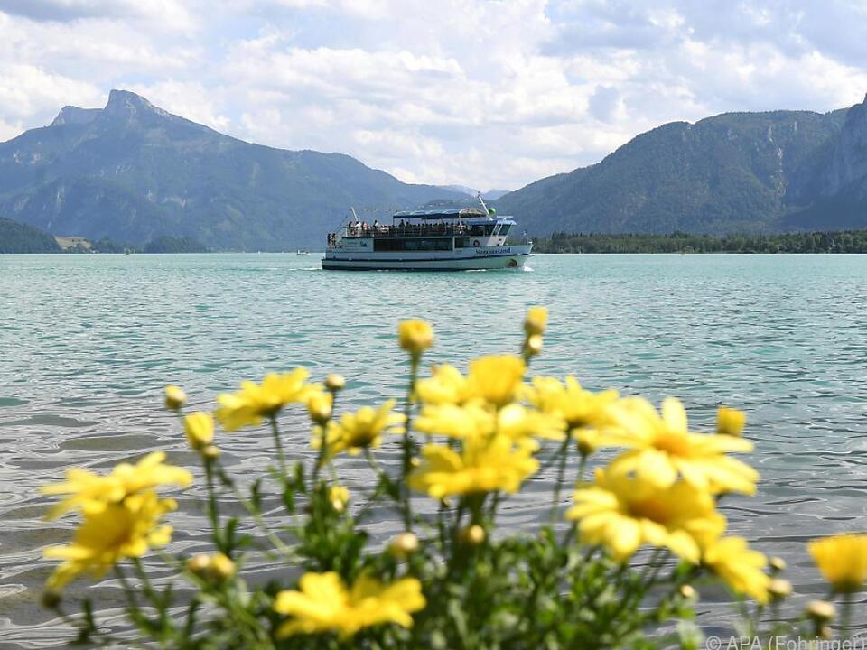 Viele Touristen haben den Sommer in Österreich genossen