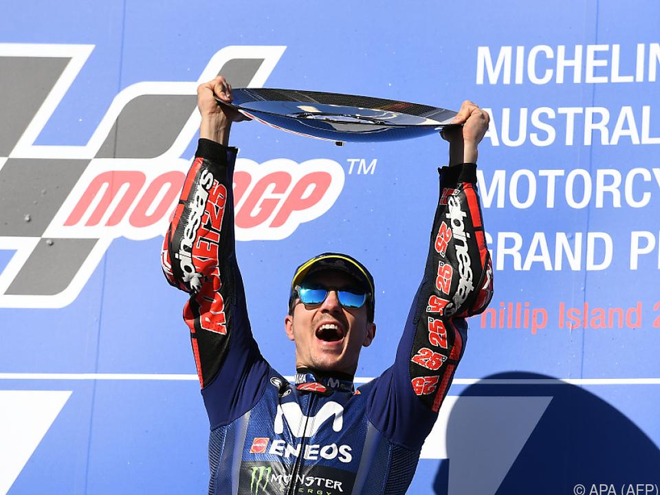 Vinales kam überlegen zum ersten Sieg seit Le Mans 2017