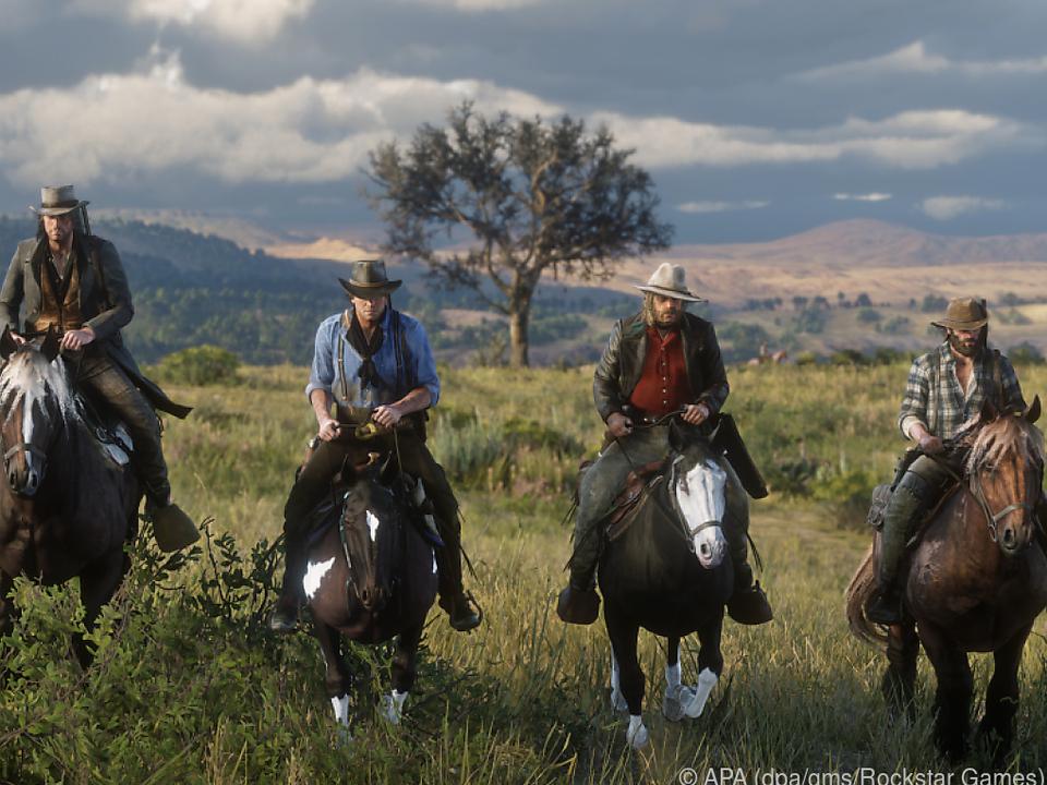 Weites Land: Die Spieler haben viel Raum, sich im Wilden Westen auszutoben