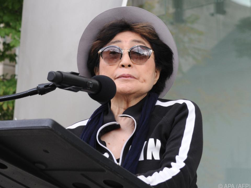 Yoko Ono beaufsichtigte das Projekt