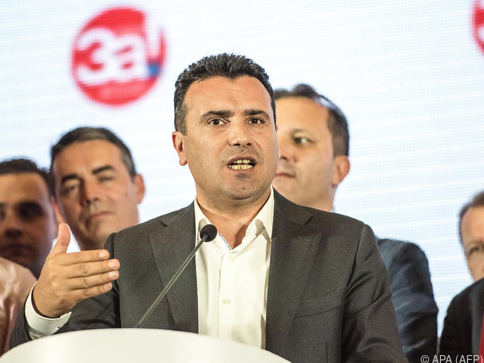 Zaev bringt Neuwahlen ins Gespräch