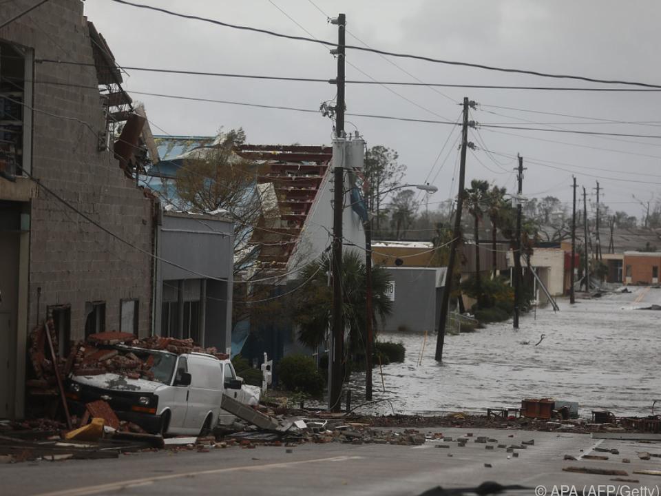 Zahlreiche Schäden durch den Hurrikan