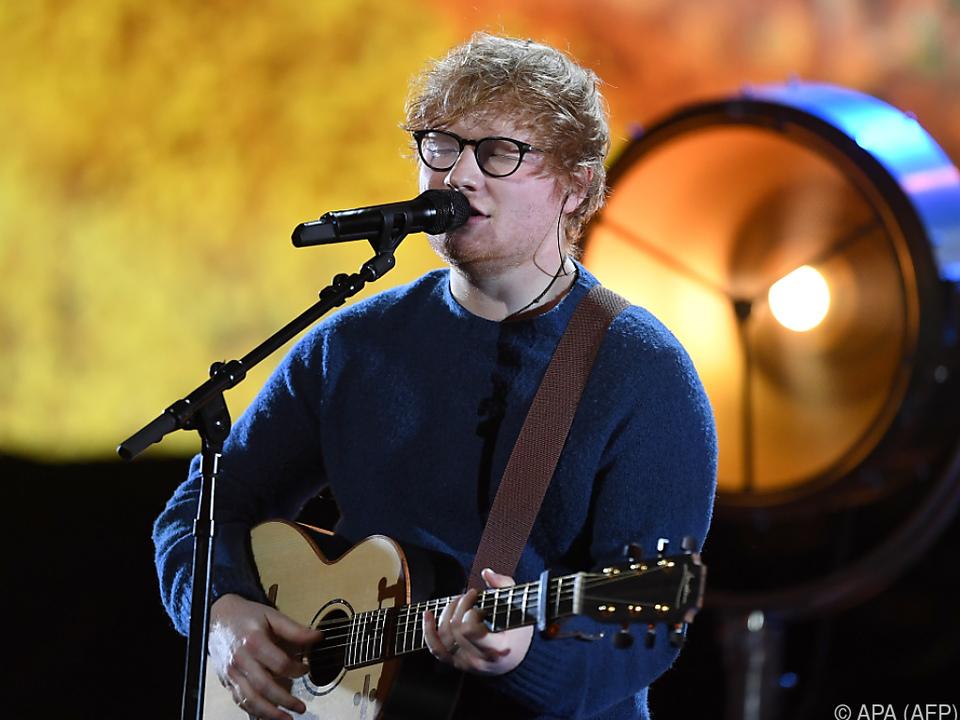 Ed Sheeran ließ sich nicht lange bitten