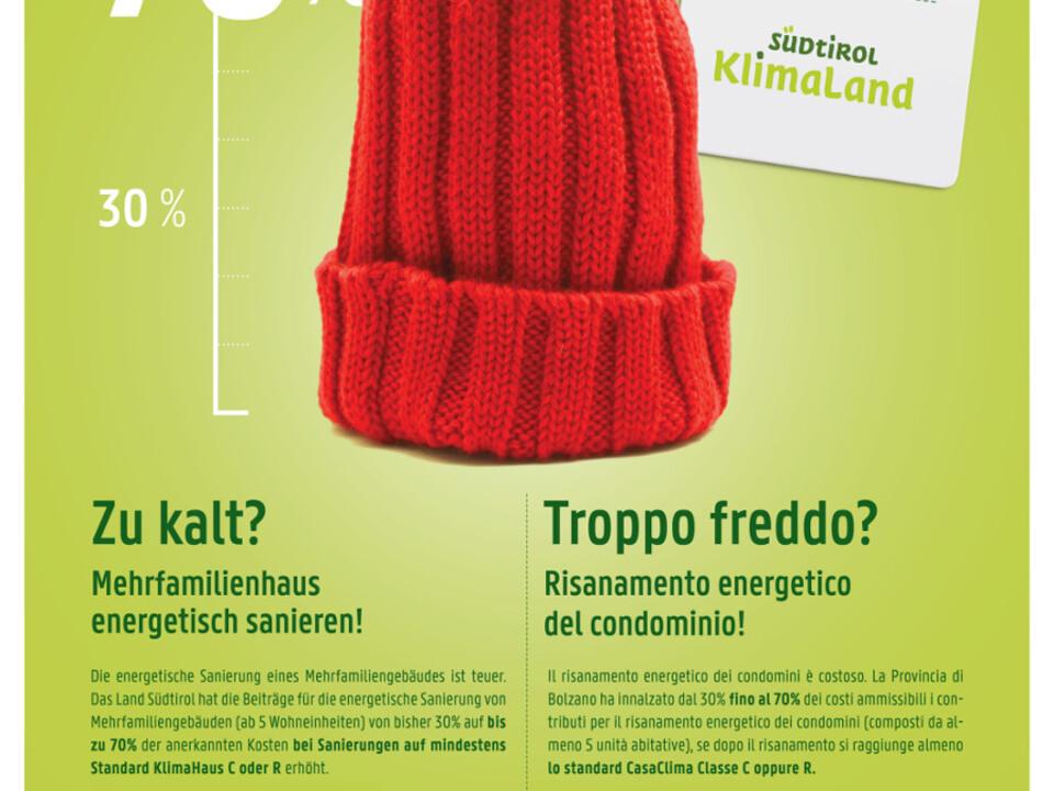 1014789_Energieeinsparung-ZuKalt-Plakat