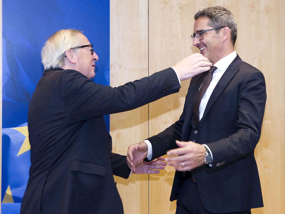 16.11.2018 Brüssel Juncker_Kompatscher