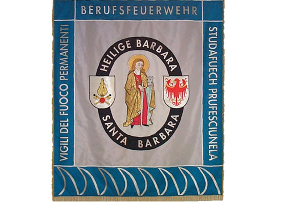 Barbara Fahne Berufsfeuerwehr