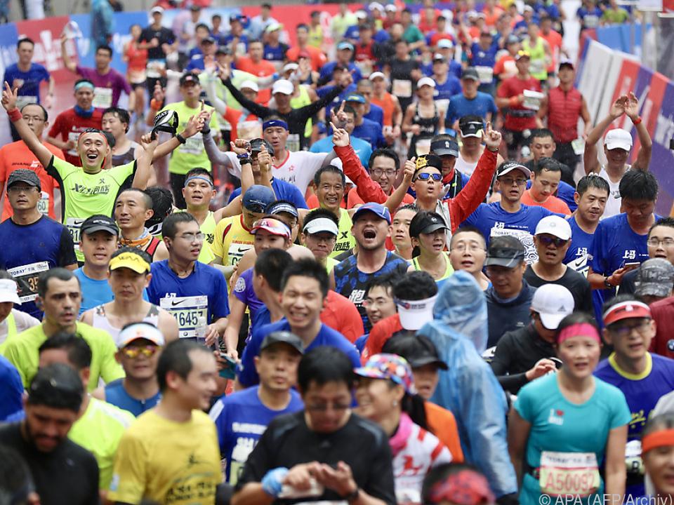 2018 gab es landesweit mehr als 1.000 Marathons und Straßenrennen