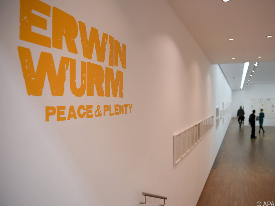 300 Werke zeigen in der Albertina Erwin Wurm, den Zeichner