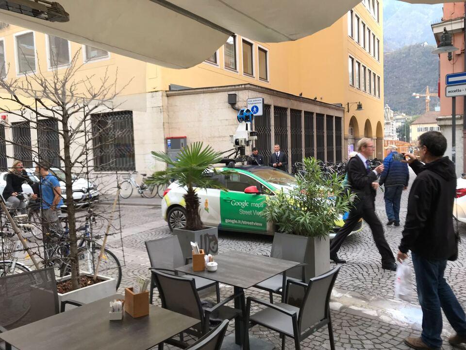 Google Car in Bozen