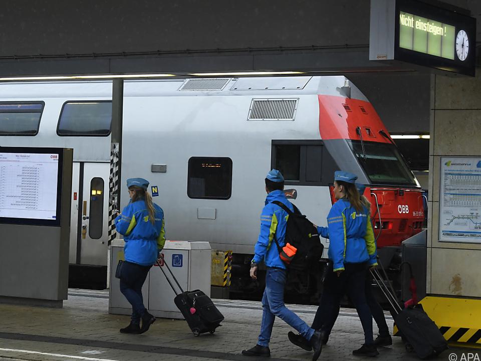 670 Züge standen in Österreich still