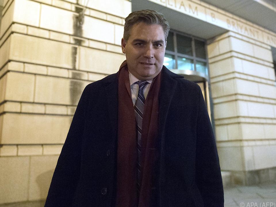 Acosta und CNN gingen vor Gericht