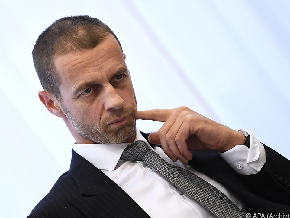 Aleksander Ceferin erteilt Super League eine Absage