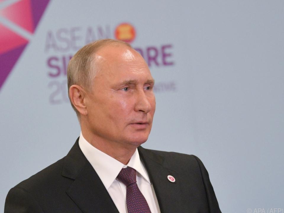 An Putin wurde bereits eine Einladung ausgesprochen
