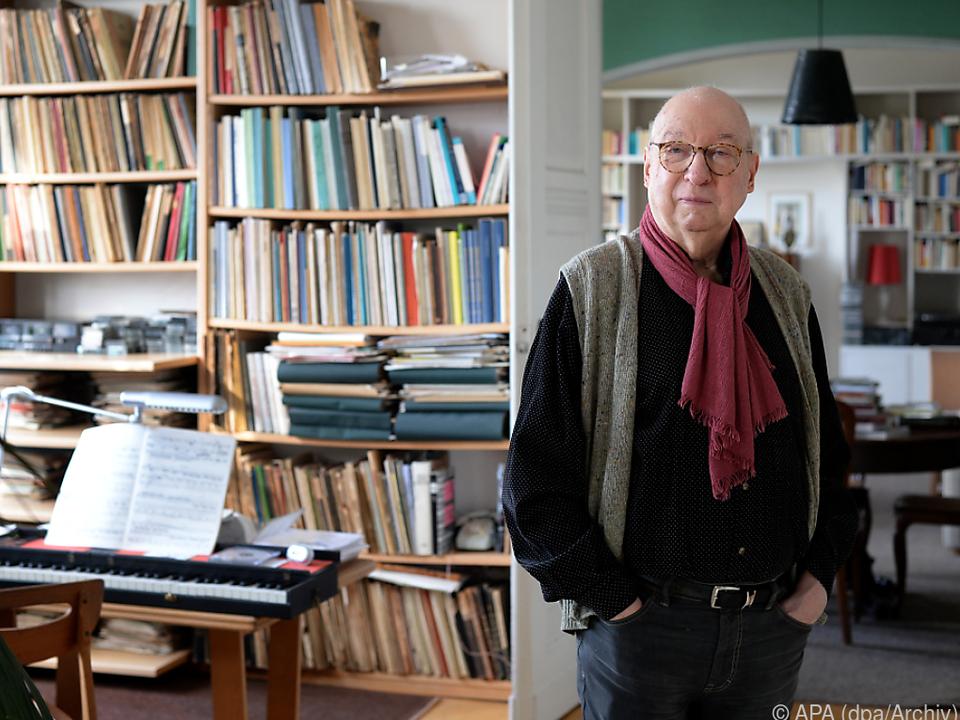Aribert Reimann für sein Lebenswerk geehrt