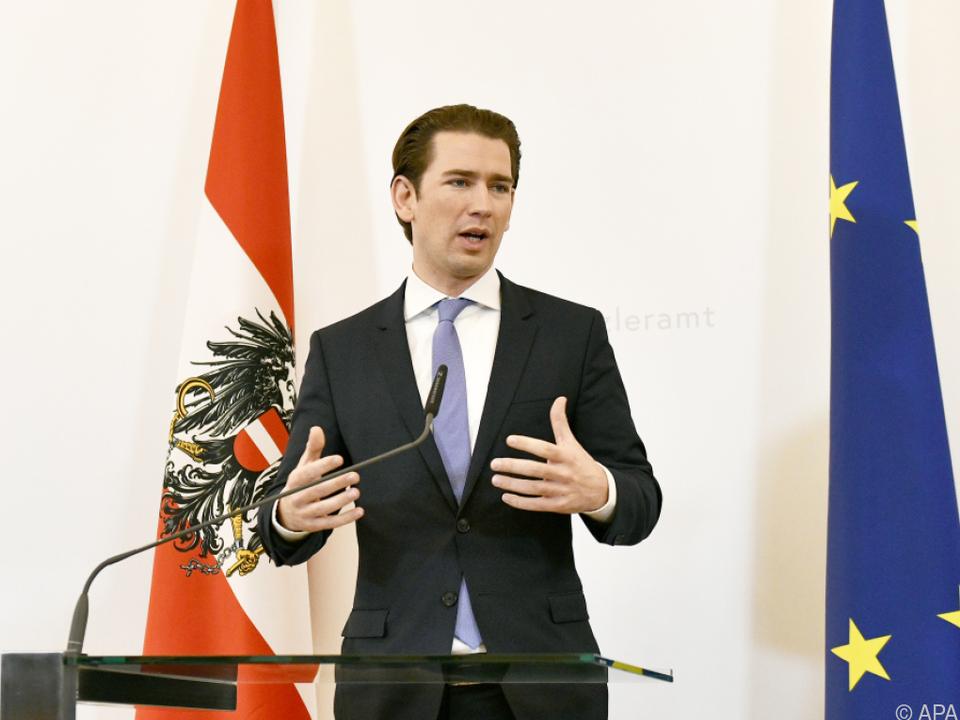 Auch Bundeskanzler Kurz befürwortet das Projekt