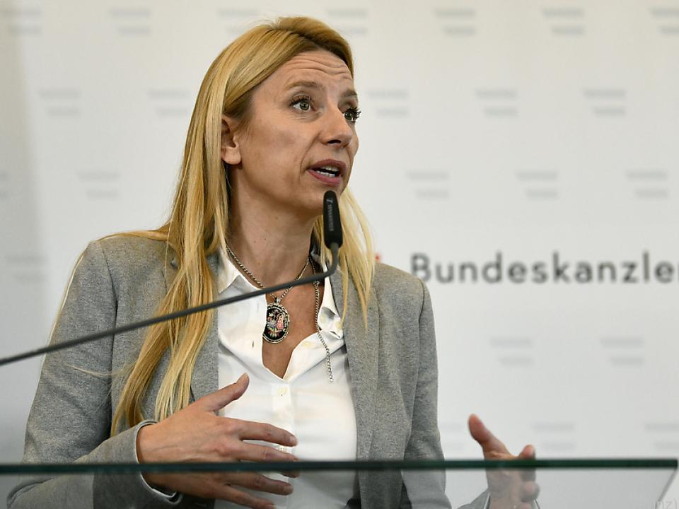 Auch Familienministerin Bogner-Strauß äußerte sich kritisch