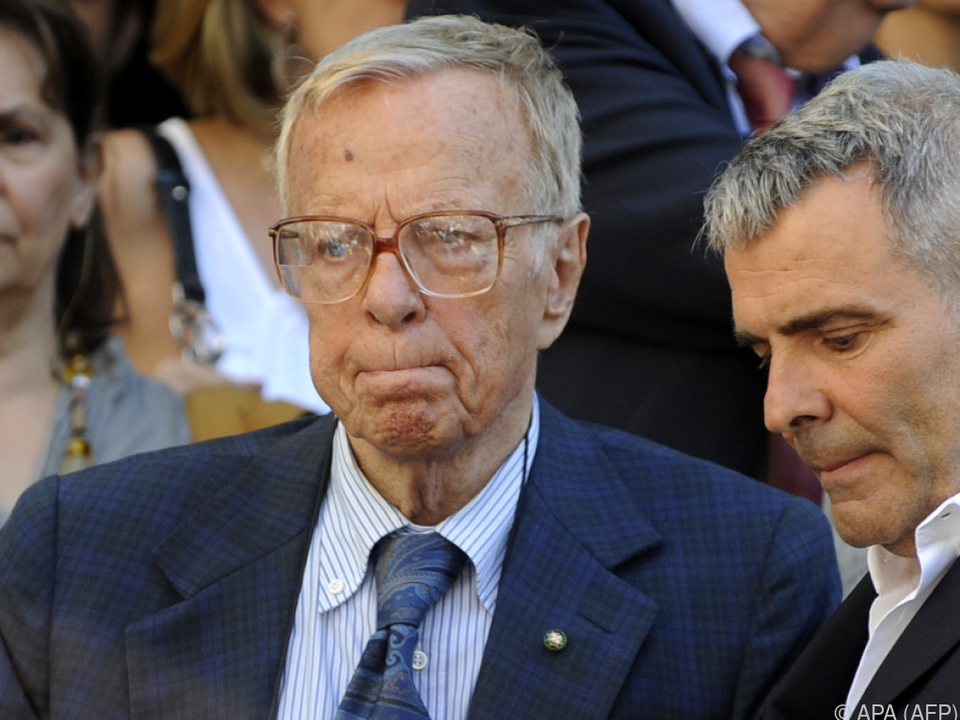 Auch mit 95 Jahren denkt Zeffirelli nicht ans Aufhören
