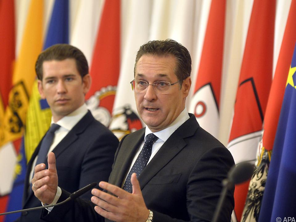 Auch Strache hatte keine Freude mit dem FPÖ-\