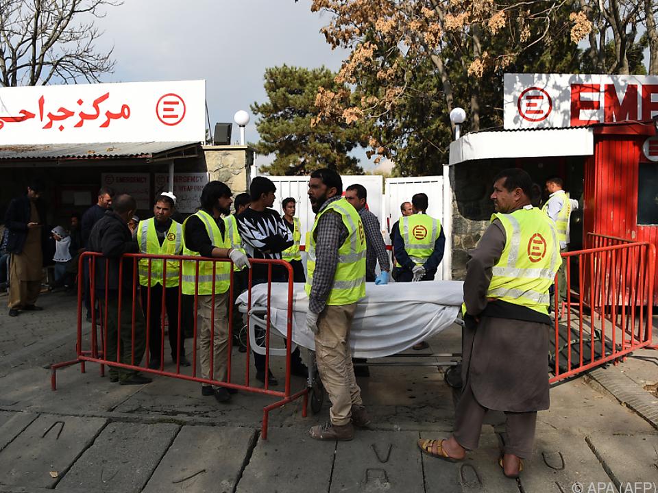 Bei einem Anschlag gab es mindestens sechs Todesopfer