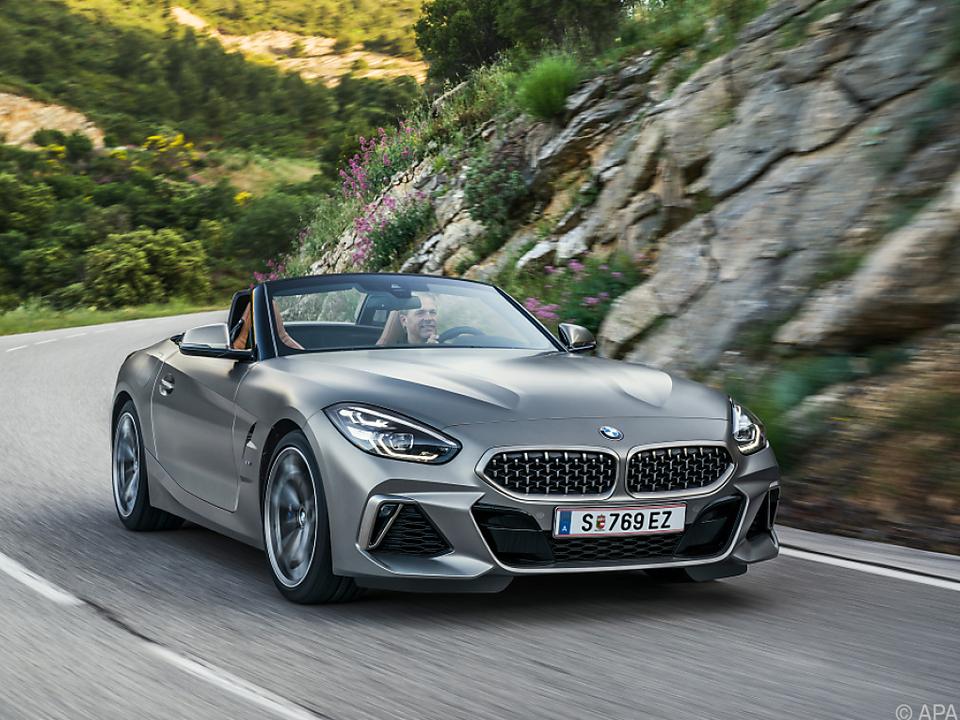 BMW Z4 wird zum Großteil in Österreich hergestellt