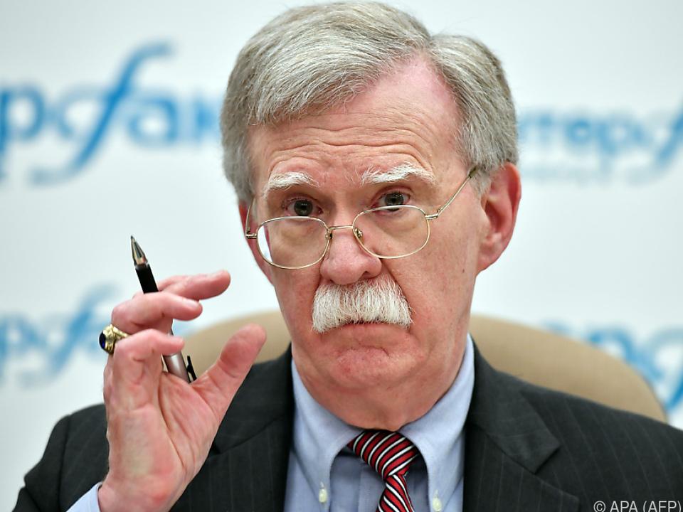 Bolton droht dem Iran