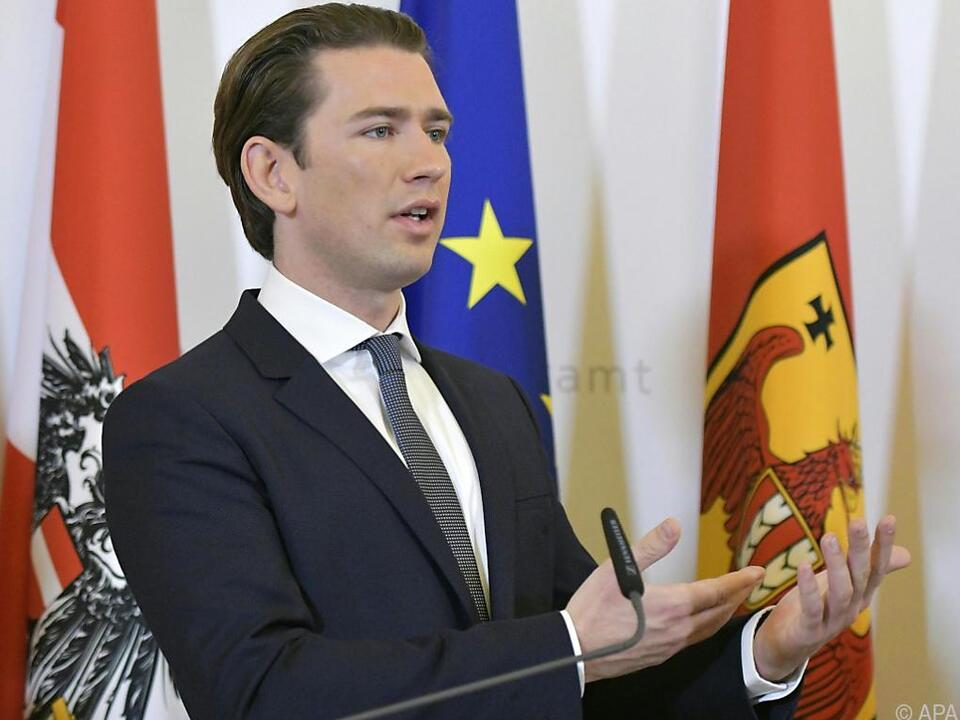 Bundeskanzler Kurz (ÖVP) ist am Balkan unterwegs