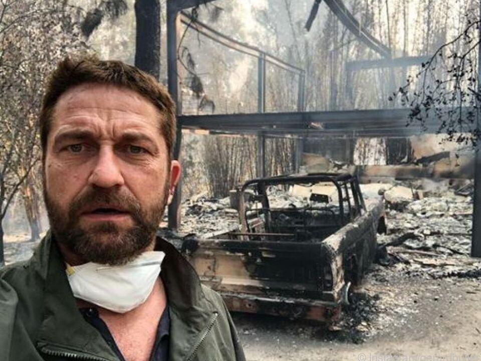 Butler kehrte nach der Evakuierung zurück zu seinem Haus