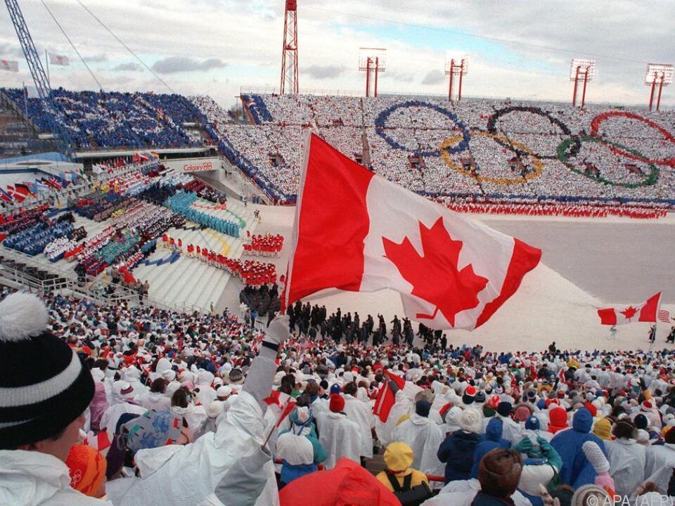 Calgary hatte die Spiele bereits 1988 ausgerichtet