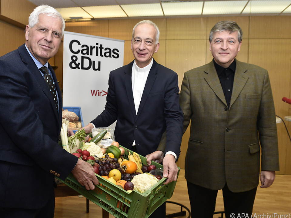 Caritas-Präsidenten mit Appell in Richtung Regierung