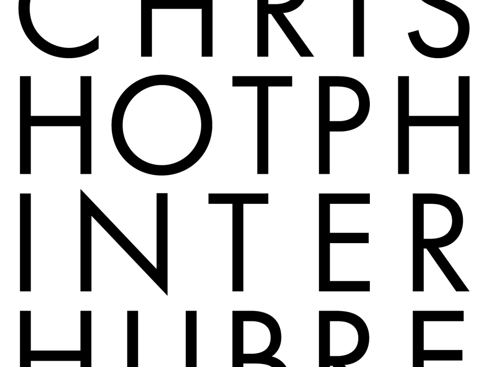 Christoph Hinterhuber, Künstler
