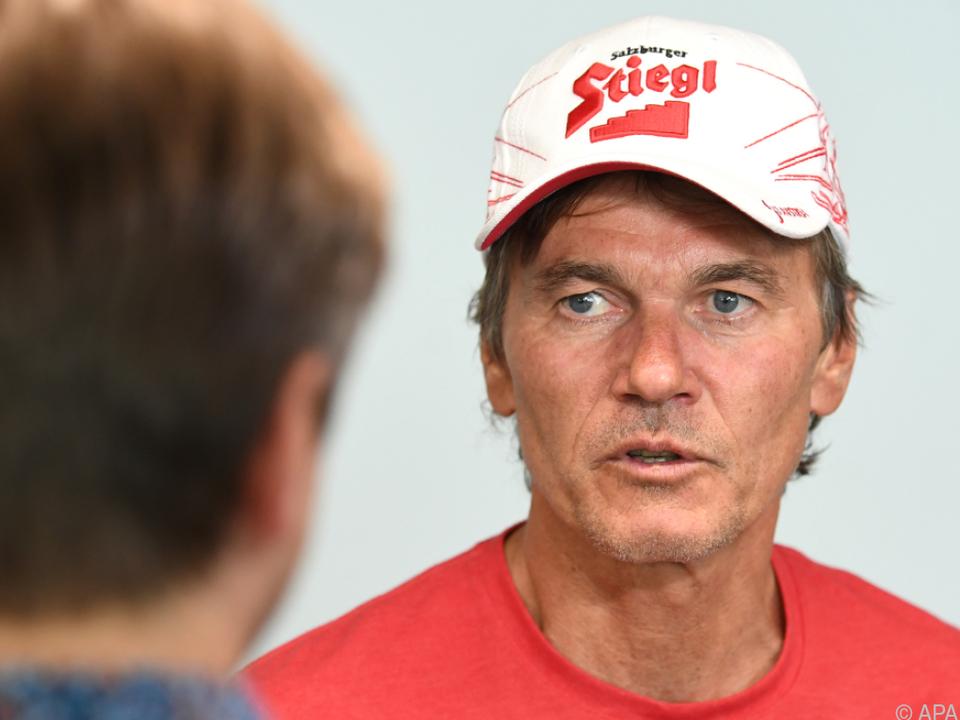 Cheftrainer Andreas Felder glaubt an seine Mannschaft