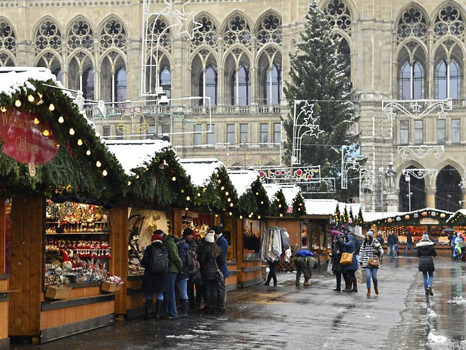 Christkindlmarkt am Wiener Rathausplatz setzt rund 60 Mio. Euro um