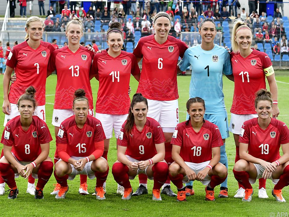 Das Damen-Nationalteam hat England zu Gast