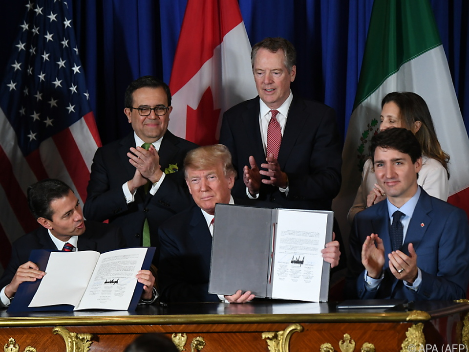 Das Handelsabkommen muss noch ratifiziert werden