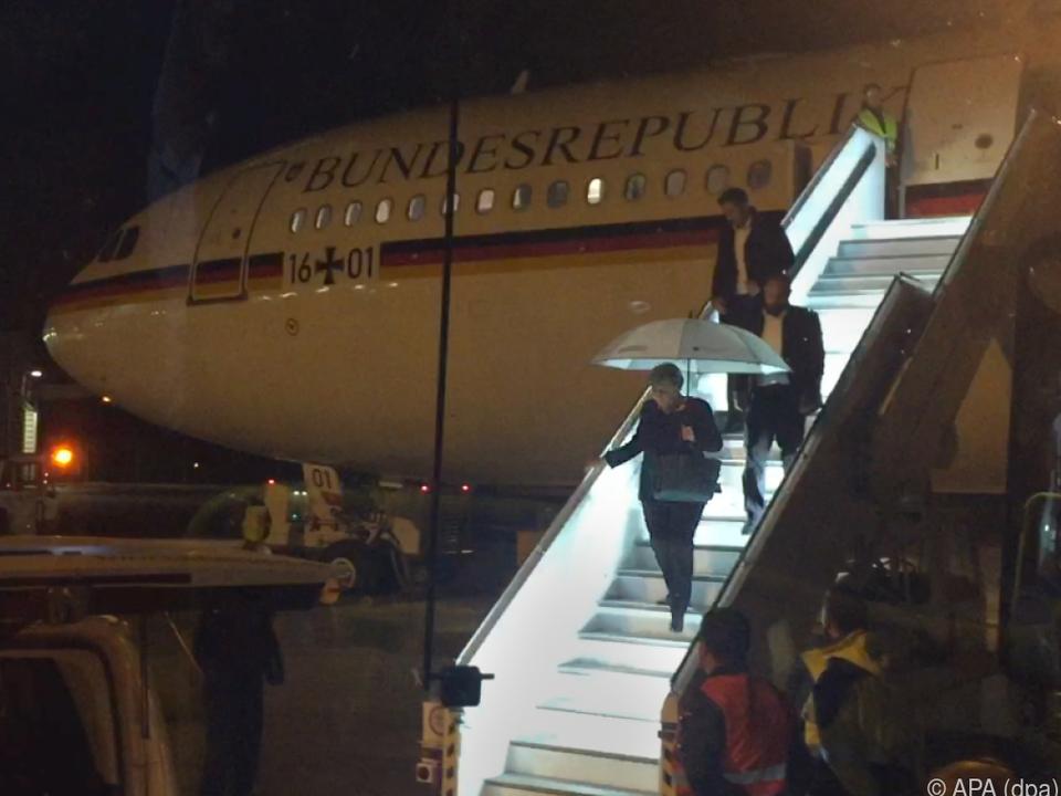 Das Regierungsflugzeug musste in Köln-Bonn landen