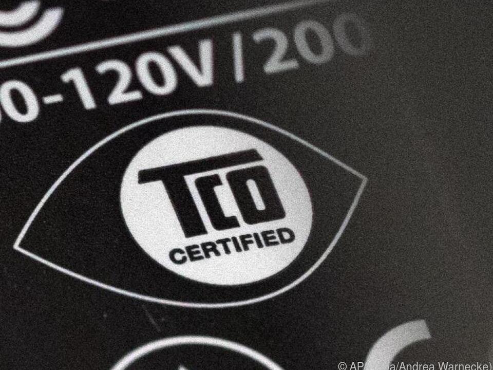 Das TCO-Logo ist Siegel für Einhaltung von sozialen und Umweltkriterien