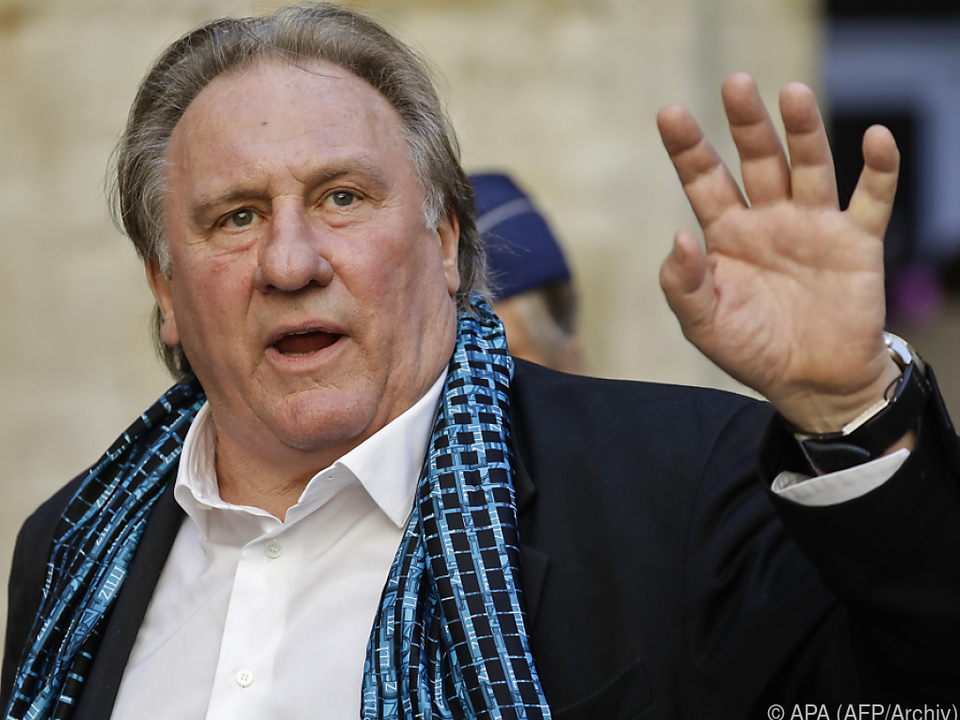 Depardieu mit schweren Vorwürfen konfrontiert